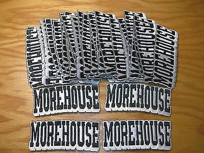 "Lot of 30 ""MOREHOUSE"" EMBROIDERED IRON ON PATCH - NCAA"