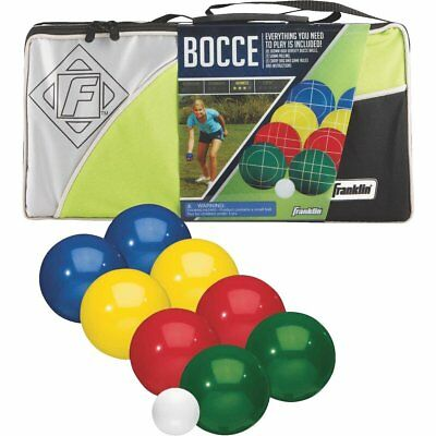 Franklin 90mm Halex Bocce Ball Set with Carry/storage Bag