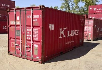 20' Used Shipping Container (conex, sea van, dry container) /  Memphis, TN