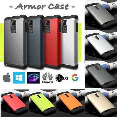 Cover Custodia Tough Slim Armor Dual Tone Antiurto Per Asus Samsung Apple ....