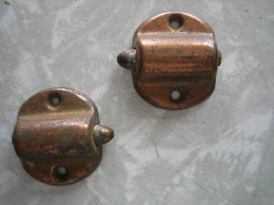 Antique Vintage  Unique  Spring Lock Part Lot of 2
