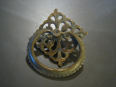 Vintage Ornate Brass ??  Drawer Pull
