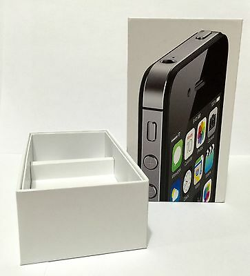 APPLE IPHONE 4S 16GB  WHITE BOX ONLY NO PHONE or ACCESSORIES
