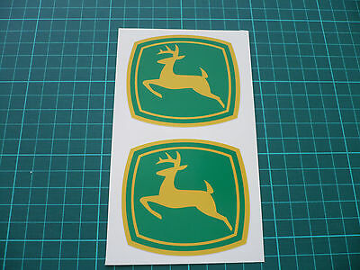 JOHN DEERE Stickers - Green