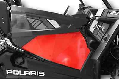 RED RZR 1000 XP1K XP1000 and Turbo Lower Door Panel Inserts RZR1000 Doors
