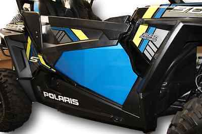 BLUE RZR 1000 XP1K XP1000 and Turbo Lower Door Panel Inserts RZR1000 Doors