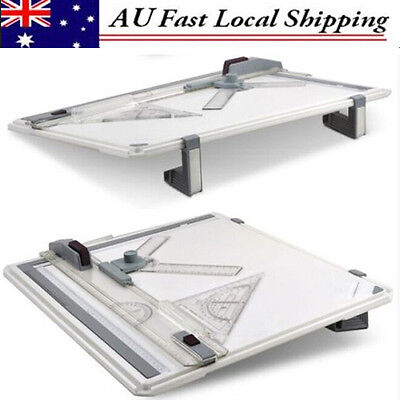 A3 Drawing Board Table With Parallel Motion&Adjustable Angle Office AU Stock NEW