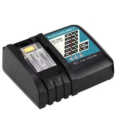 NEW for Makita 18V Lithium Ion Battery Charger DC18RC for BL1830 & BL1815