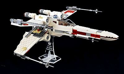 Star Wars Lego 9493 X-Wing Starfighter - custom display stand only