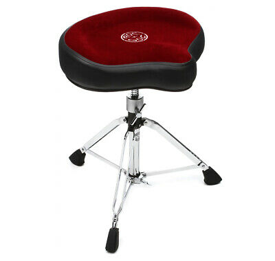 Roc n Soc Drum Stool Throne With Custom Base Red