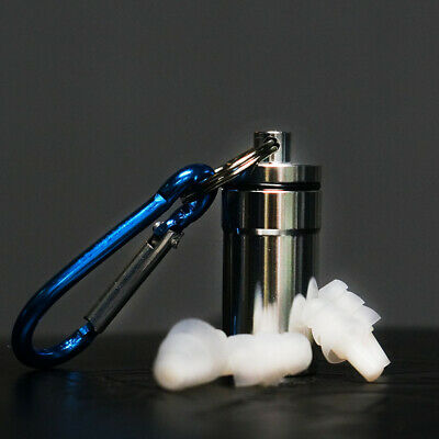HearSafe Ear Plugs Hearing Protection Earplugs & Case for Musician Concert DJ's