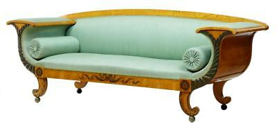19Th Century Swedish Birch Neo Classical Sofa