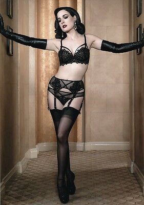 Dita Von Teese Sexy Burlesque Dancer Model Actress Singer Unsigned A4 Size Photo