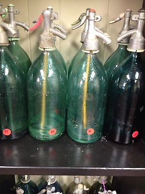 Antique Seltzer Bottles
