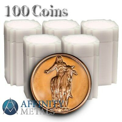 100 Coins- American Indian Series Appeal to the Great Spirit 1 oz Copper Rounds