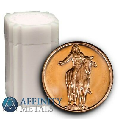 20 Coins- American Indian Series Appeal to the Great Spirit 1 oz Copper Rounds