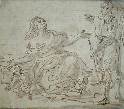 Eighteenth-Century Pen and Ink Drawing