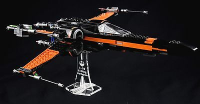 Star Wars Lego 75102 & 75149 X-Wing Starfighters - custom display stand only