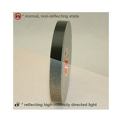 3M Scotch Reflective Flash Striping Tape Scotchcal .5-in by 50-FT Black Safety