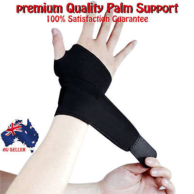 Palm & Wrist Support Hand Support Brace Carpal Tunnel Pain Thumb Protector