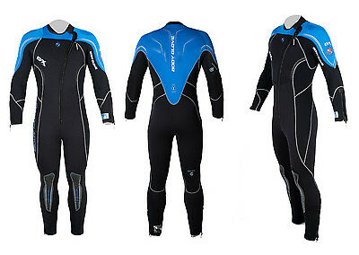 Body Glove Herren Tauchanzug EVX 7 mm Front RV Full Wetsuit Neo Tauchen