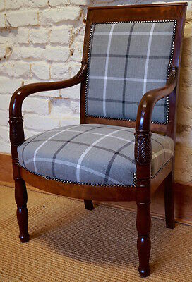 Stunning Late 19th Century Antique French Empire Style Armchair