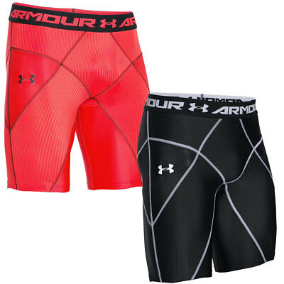 Under Armour 2017 Mens UA Armour HeatGear Core Compression Baselayer Shorts