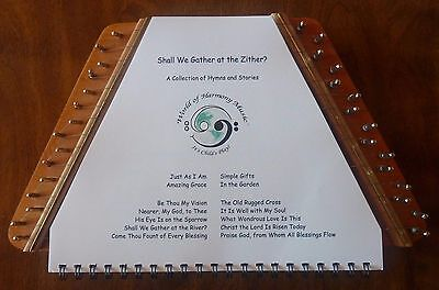 Hymn Music Book and Stories for Music Maker, Melody Harp zither