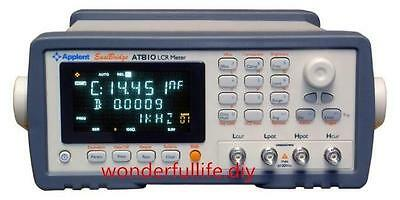AT810D LCR Meter Test frequency 100Hz,120Hz,1kHz,10kHz, Basic accuracy: 0.2%