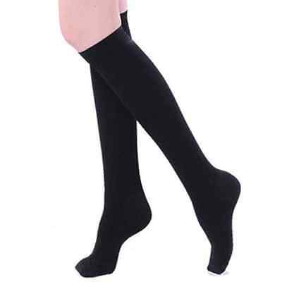 1Pair Women Slimming Black Miracle Shape Legs Compression Cotton Soft Socks New