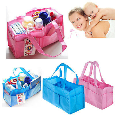 Baby Diaper Bag Portable Outdoor Travel Nappy Changing Organizer Insert Storage