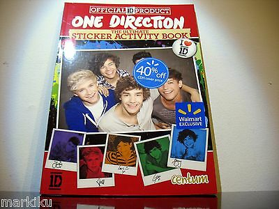 New 1D One Direction The Ultimate Sticker Activity Book Walmart exclusive