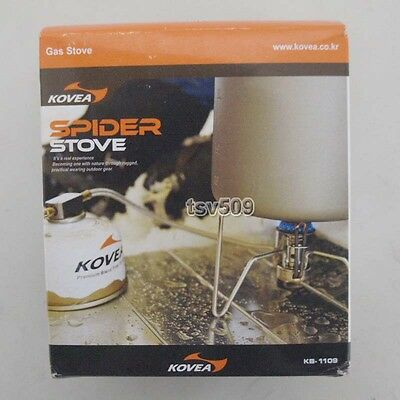 Genuine KOVEA Spider KB-1109 GAS Stove + Igniter Hose iso-butane Camping