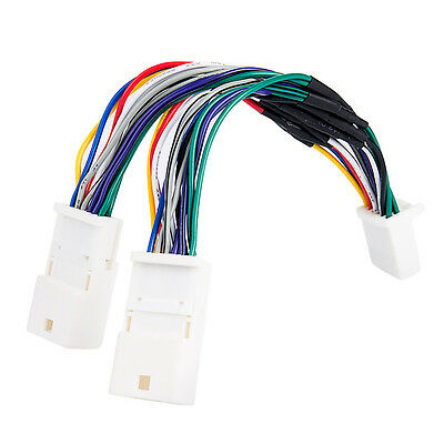 Toyota 6x6 Y Cable Splitter for Aux CD Changer/ Navigation/ Ipod adapter/ XM