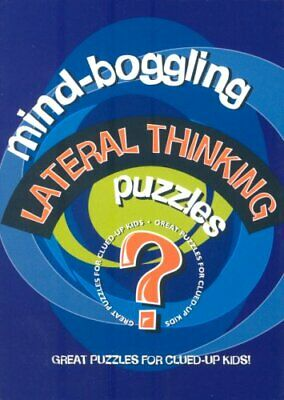 Mind Boggling Lateral Thinking Puzzles for Kids Hardback Book The Cheap Fast