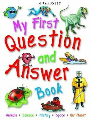 My First Question and Answer Book by Miles Kelly Book The Cheap Fast Free Post