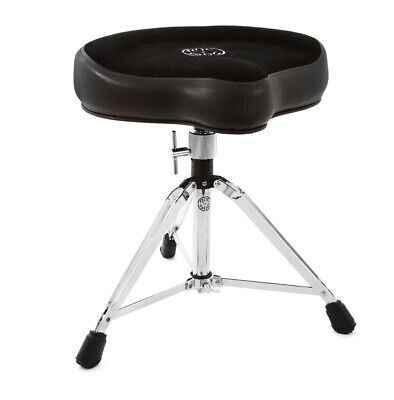 Roc n Soc Drum Stool Throne With Custom Base Black
