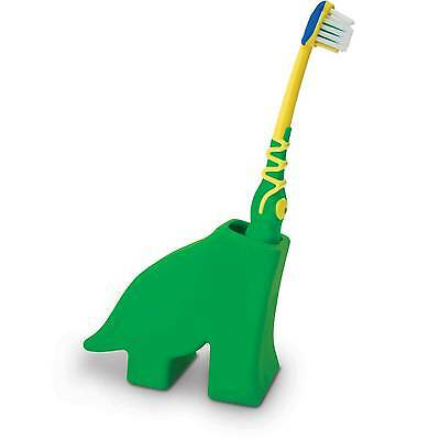 Diego the Green Dinosaur Toothbrush Holder by J-ME