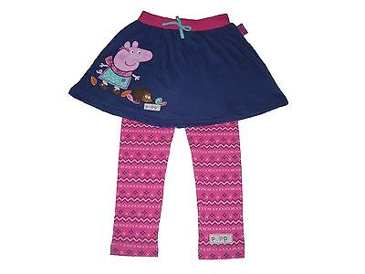 Girls Leggings And Skirt Set Official Peppa Pig 4 5 & 6 Years Old