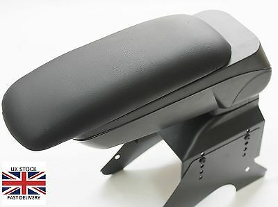 Armrest Centre Console Universal Black Leatehr Arm Rest Car Caravan Bus Boxed