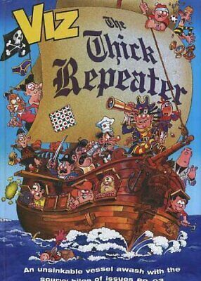 The Thick Repeater by Viz Hardback Book The Cheap Fast Free Post