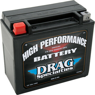 Drag Specialties High Performance 310 CCA Cold Cranking Amps Battery Harley 20H
