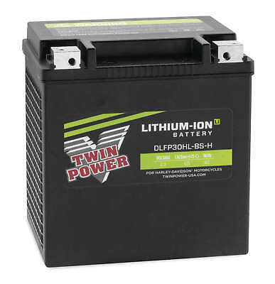 Twin Power Lithium-Ion Li 625 Cold Cranking Amp CCA Battery Harley FLH/T 30L