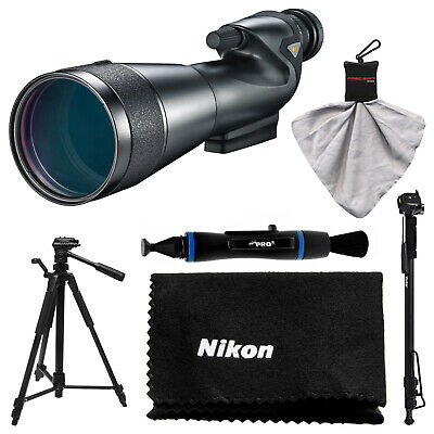 Nikon 20-60x82mm Prostaff 5 Straight Body Fieldscope Spotting Scope w/ Eyepiece