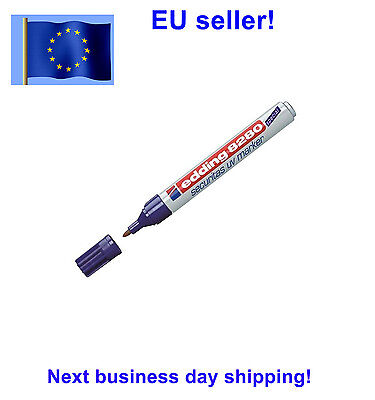 Edding 8280 UV marker geocaching Invisible security pen Germany Night caching