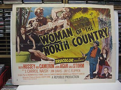 Woman Of The North County (1952) Lobby Cards, Posters, and Pamphlet Gale Storm