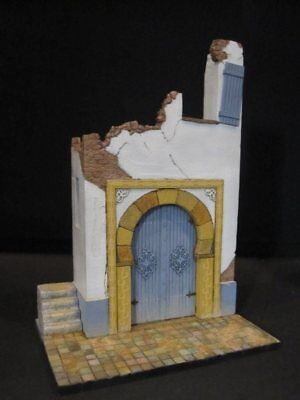 Reality In Scale 1:35 Ruined North African House Resin Diorama Accessory #35223