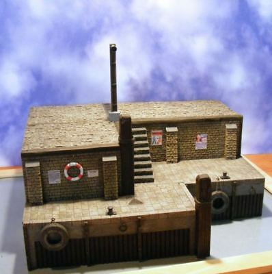 Reality In Scale 1:35 The Old Harbour - Resin Diorama Accessory #35160