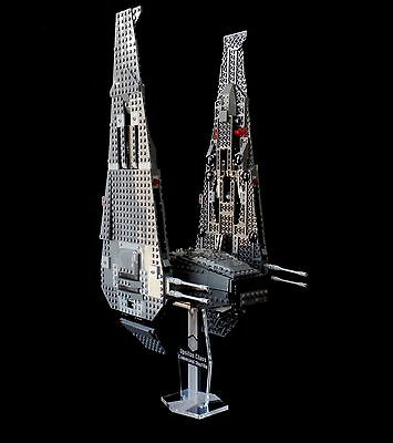 Star Wars Lego 75104 Kylo Rens Command Shuttle - custom display stand only
