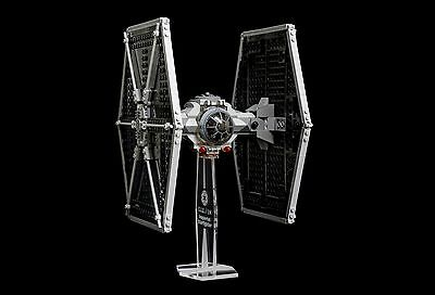 Star Wars Lego 9492 Imperial TIE Fighter - custom display stand only